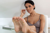 small preview pic number 3 from set 1323 showing Allyoucanfeet model Lulu