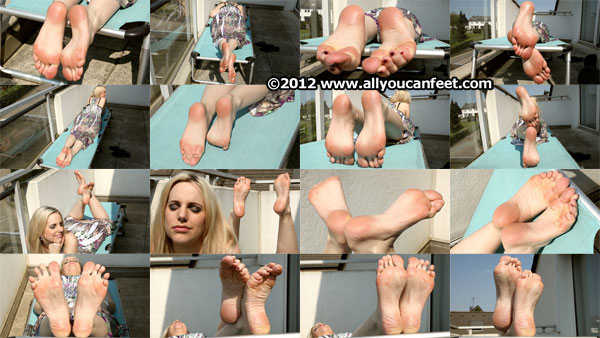 bigger preview pic from set 1334 showing Allyoucanfeet model Madeleine