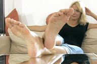 small preview pic number 2 from set 1346 showing Allyoucanfeet model Cathy