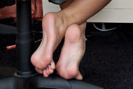 small preview pic number 3 from set 1359 showing Allyoucanfeet model Nicky