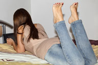 small preview pic number 4 from set 1360 showing Allyoucanfeet model Patty