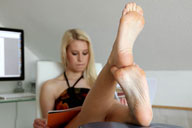 small preview pic number 6 from set 1377 showing Allyoucanfeet model Nine