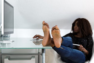 small preview pic number 4 from set 1396 showing Allyoucanfeet model Jule
