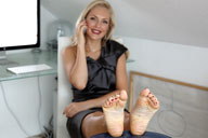 small preview pic number 4 from set 1398 showing Allyoucanfeet model Nicola
