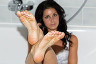 small preview pic number 2 from set 1411 showing Allyoucanfeet model Lena