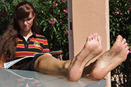 small preview pic number 4 from set 1426 showing Allyoucanfeet model Joyce