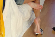 small preview pic number 6 from set 143 showing Allyoucanfeet model Candy