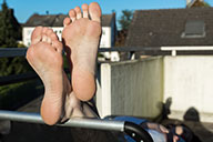 small preview pic number 6 from set 1451 showing Allyoucanfeet model Julie