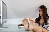 small preview pic number 4 from set 1465 showing Allyoucanfeet model Patty