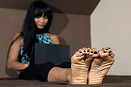 small preview pic number 1 from set 1495 showing Allyoucanfeet model Phanni