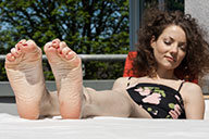small preview pic number 5 from set 1506 showing Allyoucanfeet model Chris