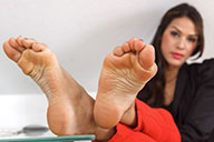 small preview pic number 5 from set 1508 showing Allyoucanfeet model Mica