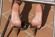 small preview pic number 1 from set 1518 showing Allyoucanfeet model Sandy