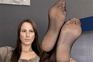 small preview pic number 2 from set 1519 showing Allyoucanfeet model Sandy