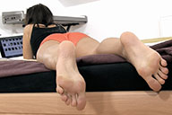 small preview pic number 5 from set 1524 showing Allyoucanfeet model Naddl