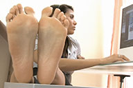 small preview pic number 4 from set 1528 showing Allyoucanfeet model Ciara