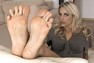 small preview pic number 6 from set 1545 showing Allyoucanfeet model Madeleine