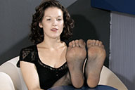 small preview pic number 1 from set 1549 showing Allyoucanfeet model Julie