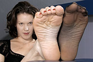 small preview pic number 3 from set 1549 showing Allyoucanfeet model Julie