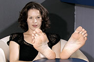 small preview pic number 5 from set 1549 showing Allyoucanfeet model Julie