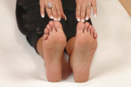 small preview pic number 2 from set 155 showing Allyoucanfeet model Vizzy