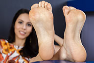 small preview pic number 5 from set 1566 showing Allyoucanfeet model Sabrina - New Model