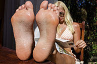 small preview pic number 4 from set 1579 showing Allyoucanfeet model Zoe