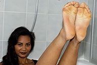 small preview pic number 1 from set 1582 showing Allyoucanfeet model Phanni
