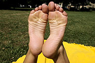 small preview pic number 2 from set 1589 showing Allyoucanfeet model Gina