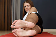 small preview pic number 2 from set 1590 showing Allyoucanfeet model Agnes