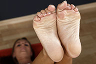 small preview pic number 3 from set 1590 showing Allyoucanfeet model Agnes