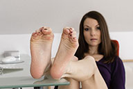 small preview pic number 3 from set 1598 showing Allyoucanfeet model Chris
