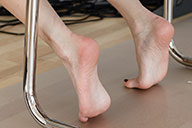 small preview pic number 5 from set 1598 showing Allyoucanfeet model Chris