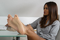 small preview pic number 3 from set 1612 showing Allyoucanfeet model Cataleya