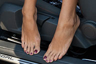 small preview pic number 2 from set 1615 showing Allyoucanfeet model Ciara