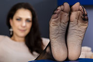 small preview pic number 3 from set 1622 showing Allyoucanfeet model Mel