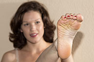 small preview pic number 4 from set 1631 showing Allyoucanfeet model Julie