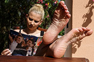 small preview pic number 2 from set 1651 showing Allyoucanfeet model Emmi