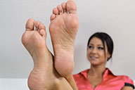 small preview pic number 4 from set 1656 showing Allyoucanfeet model Victoria