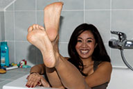 small preview pic number 2 from set 1660 showing Allyoucanfeet model Maxine