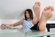 small preview pic number 3 from set 1676 showing Allyoucanfeet model Zara - New Model
