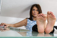 small preview pic number 4 from set 1676 showing Allyoucanfeet model Zara - New Model