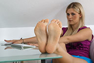 small preview pic number 5 from set 1683 showing Allyoucanfeet model Lia