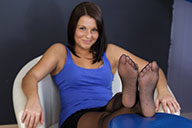 small preview pic number 2 from set 1688 showing Allyoucanfeet model Josie