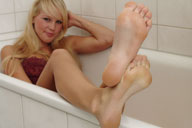 small preview pic number 3 from set 169 showing Allyoucanfeet model Venetia