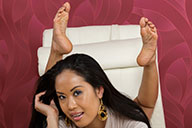 small preview pic number 6 from set 1699 showing Allyoucanfeet model Dani