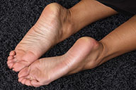 small preview pic number 6 from set 1705 showing Allyoucanfeet model Ciara