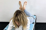 small preview pic number 5 from set 1718 showing Allyoucanfeet model Christiane
