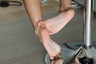 small preview pic number 3 from set 1722 showing Allyoucanfeet model Janine