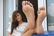 small preview pic number 5 from set 1729 showing Allyoucanfeet model Maria